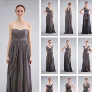 Jenny Yoo Aidan Dress in Luxe Chiffon.